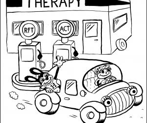 Therapie is net een tankstation