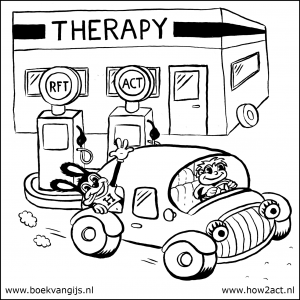 Therapie is net een tankstation.