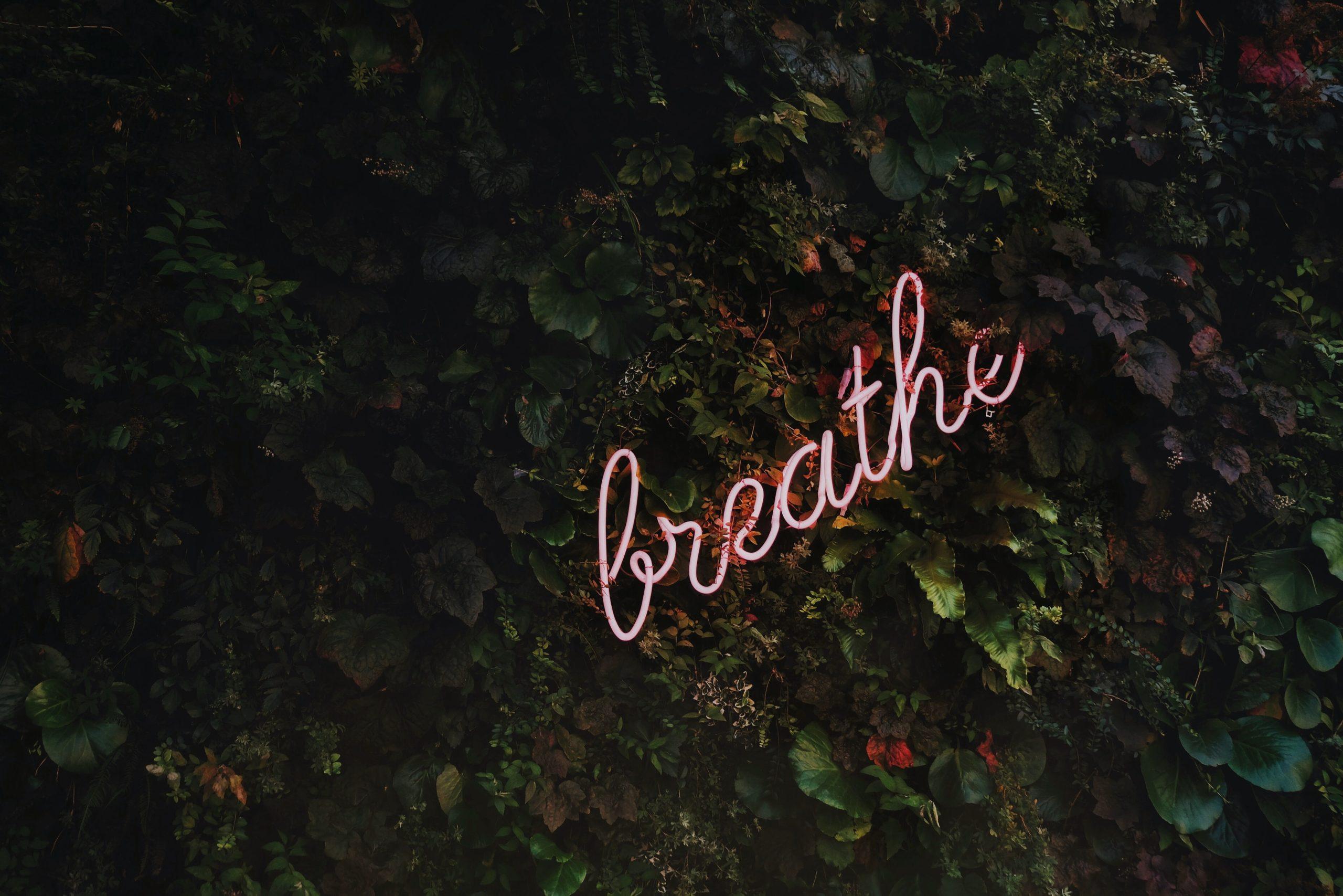 ademhalingsoefening tegen stress